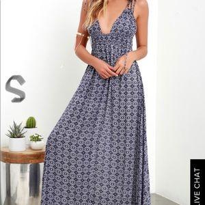 Lulu's Summer Maxi Dress